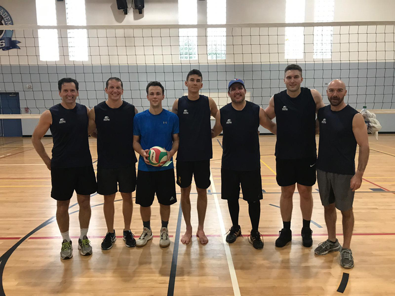 Volleyball Men's 2nd Place Bermuda Jan 2019