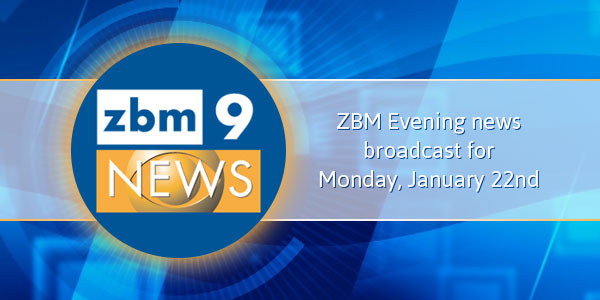 zbm 9 news Bermuda January 22 2018 tc