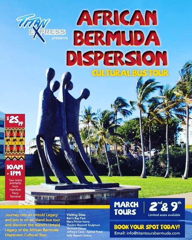 African Bermuda Dispersion Cultural Tour March 2019