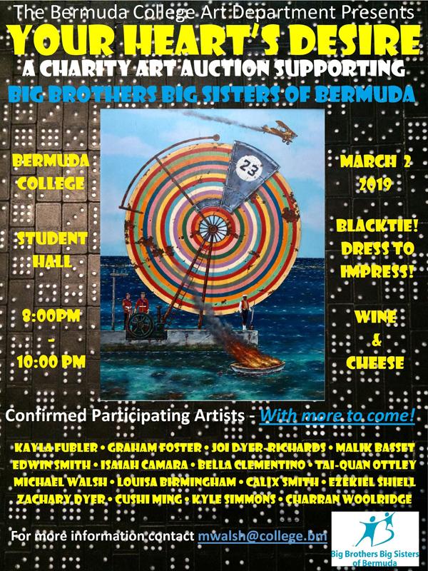 Bermuda College Charity Art Auction Feb 2019