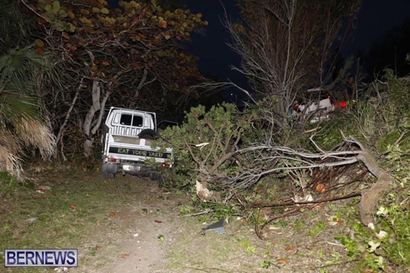 Collision Shelly Bay Bermuda February 9 2019 (1)