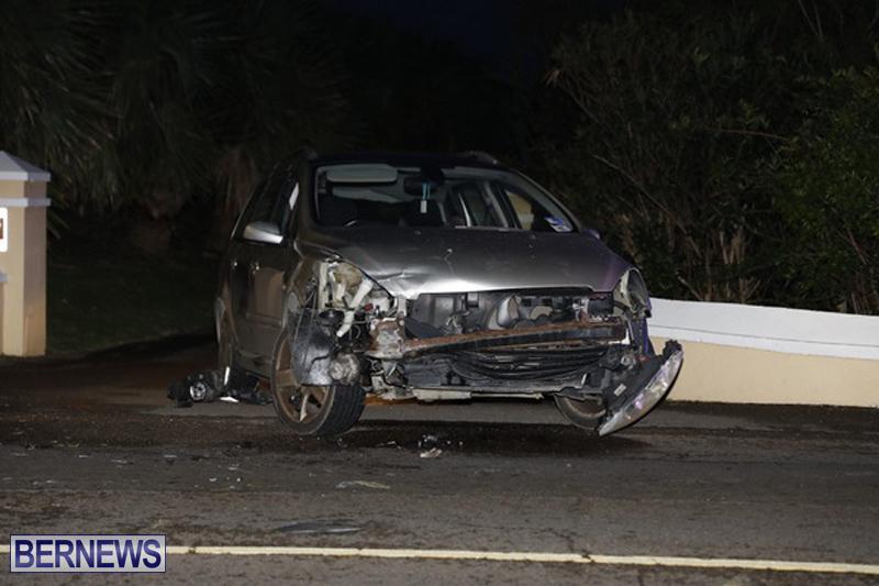 Collision Shelly Bay Bermuda February 9 2019 (2)