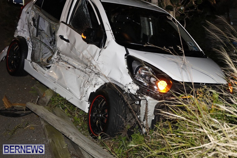 Collision Shelly Bay Bermuda February 9 2019 (4)