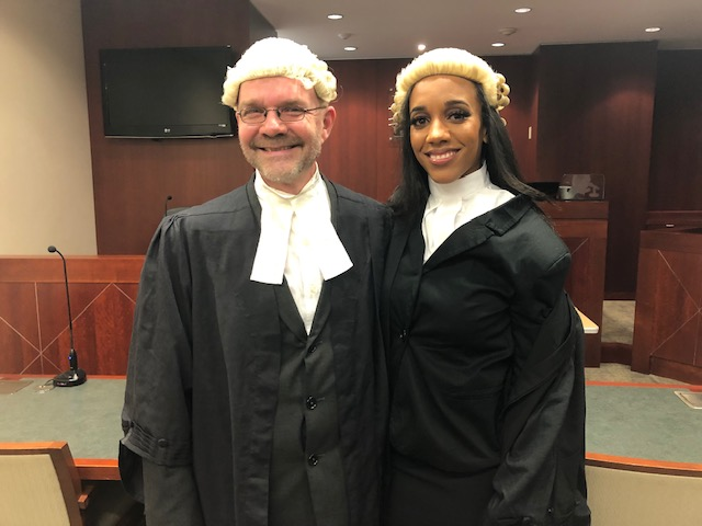 Julica Harvey and Paul Harshaw Bermuda Feb 25 2019
