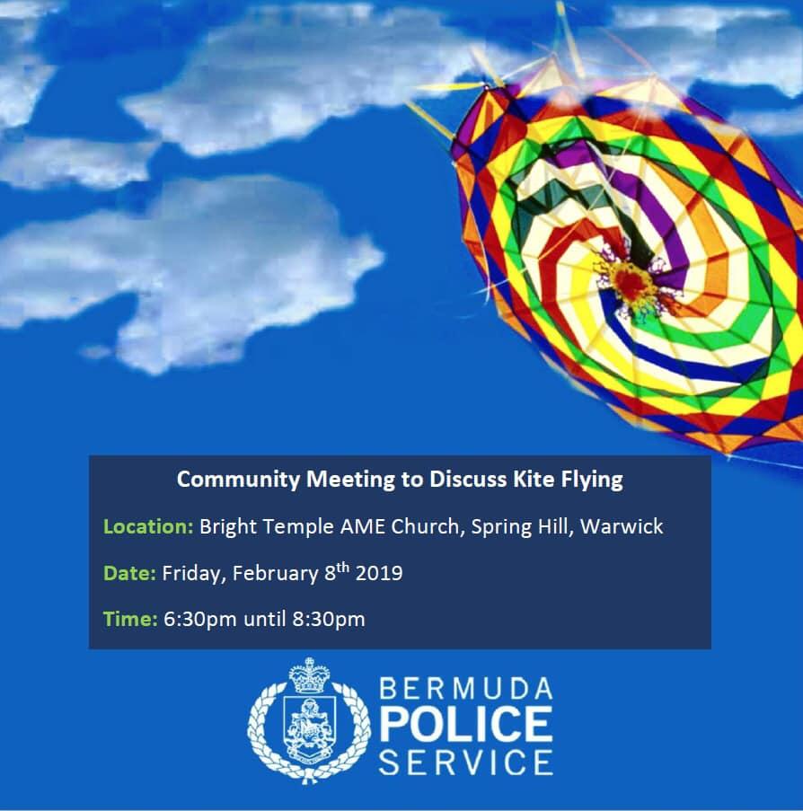 Police Kite Meeting