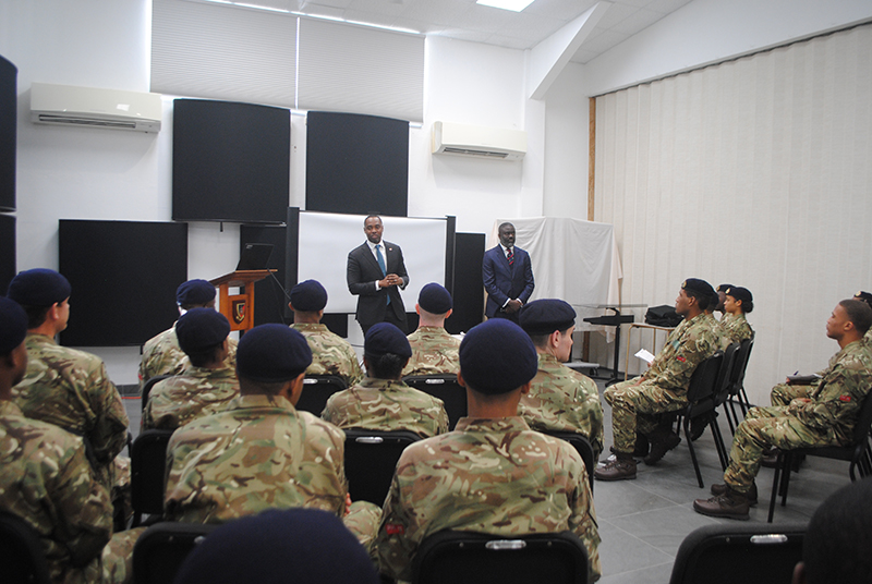 Regiment Bermuda Feb 18 2019 Premier-Class