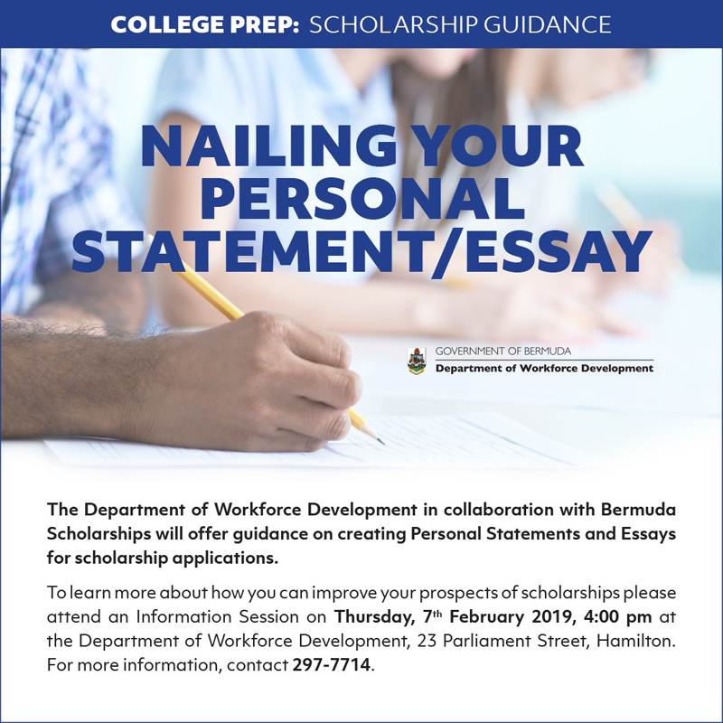 Scholarships Guidance Bermuda February 2019