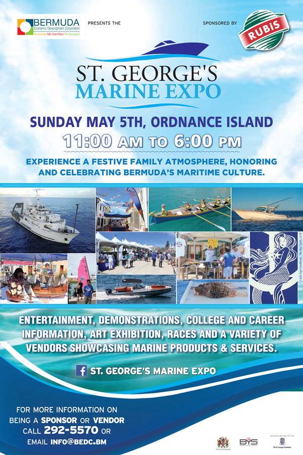 St Georges Marine Expo Bermuda May 2019
