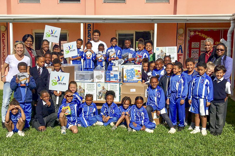 Support Public Schools Team Delivering Supplies Bermuda, February 27 2019-08-3