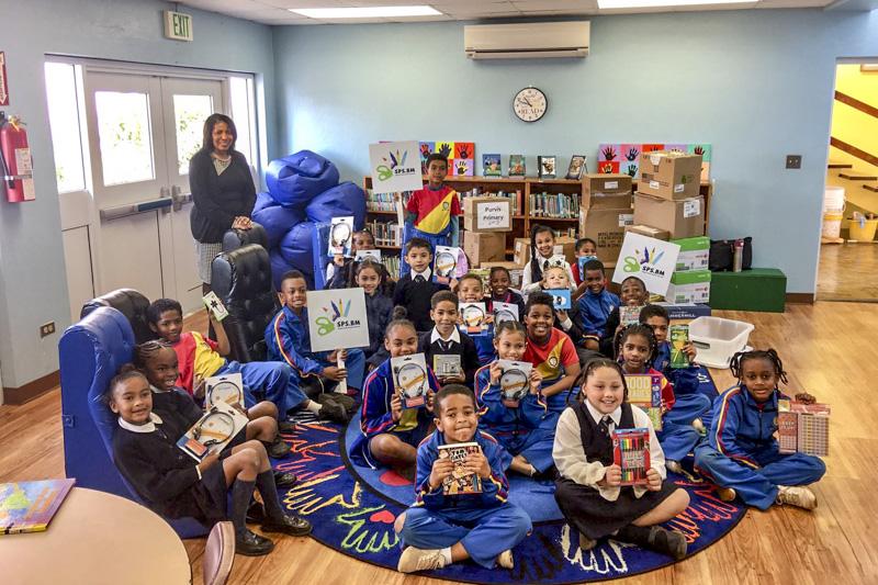 Support Public Schools Team Delivering Supplies Bermuda, February 27 2019-09-3