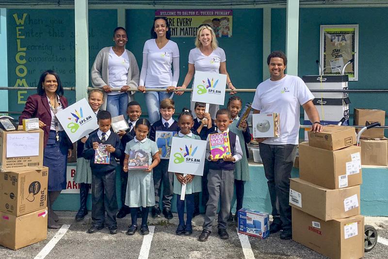 Support Public Schools Team Delivering Supplies Bermuda, February 27 2019-09-6