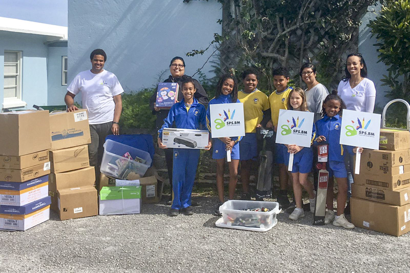 Support Public Schools Team Delivering Supplies Bermuda, February 27 2019-09-7