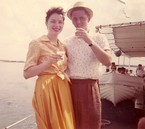 loyal Bermuda visitors Feb 14 2019 Honeymoon Couple 1959