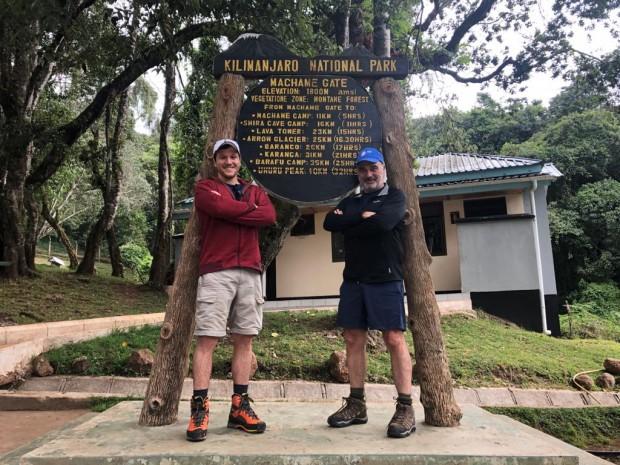 Brewins Reach Top Of Kilimanjaro bermuda 2019