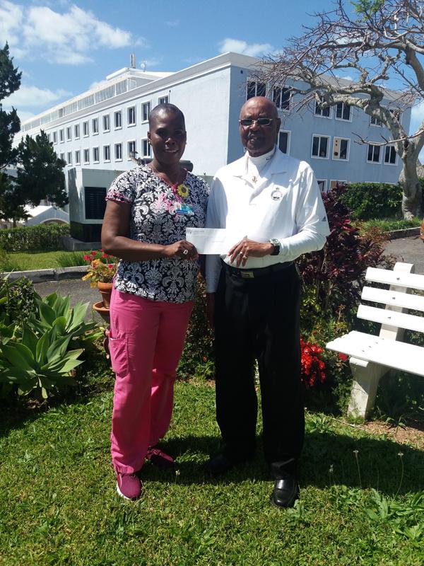 Dorette Jones and Fred Stovell Bermuda March 2019