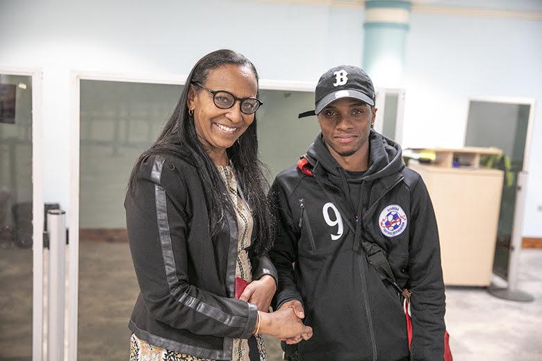 Men's National Football Team Returns Home Bermuda March 2019 (3)