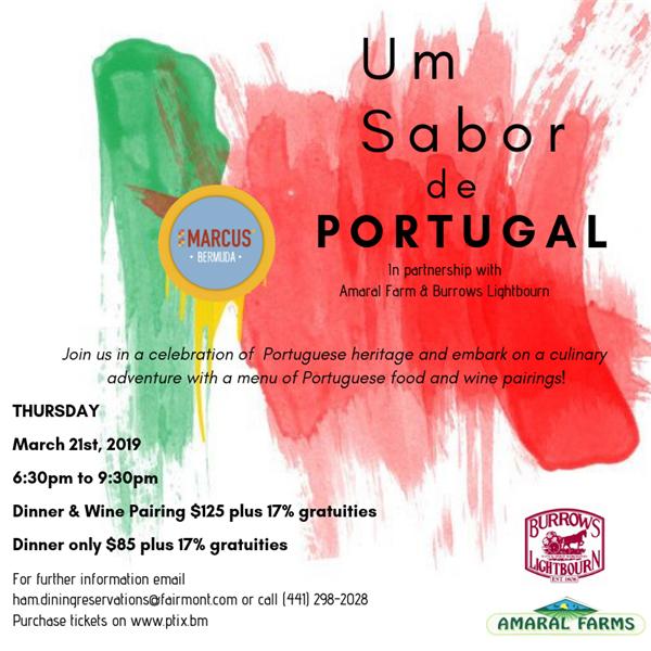 Portuguese dinner Bermuda March 20 2019