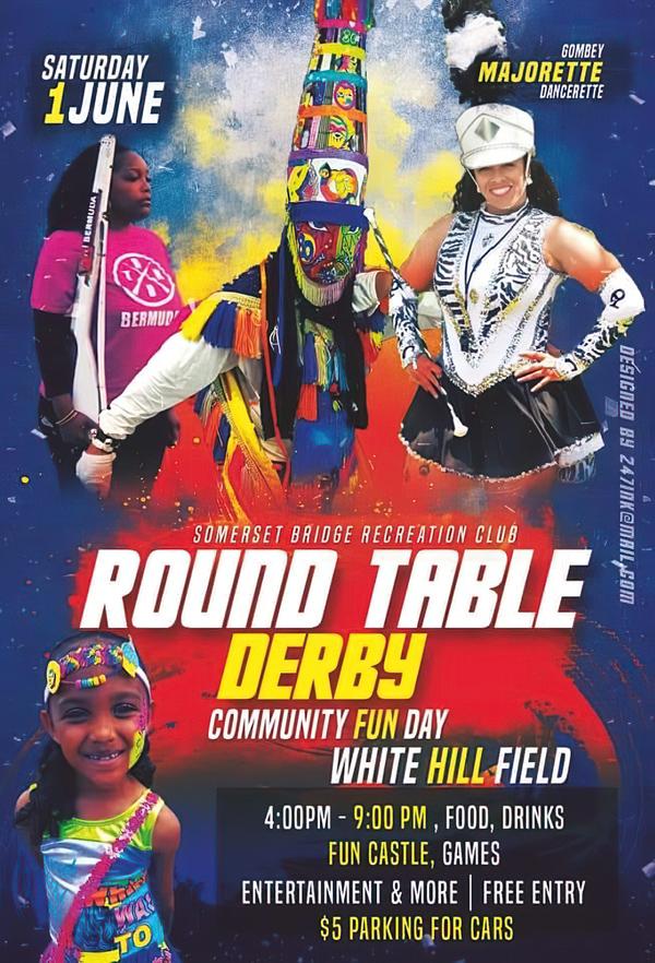 Round Table Derby Bermuda June 2019