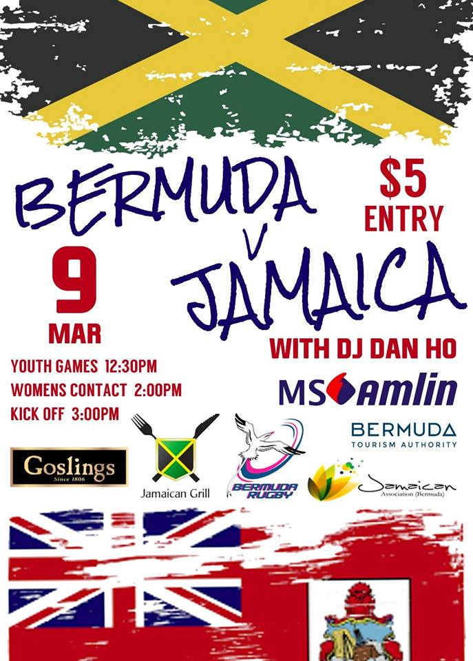 Rugby Bermuda vs Jamaica March 2019
