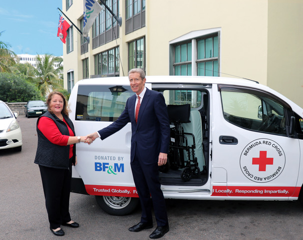 red cross Bermuda March 6 2019