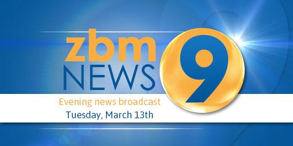 zbm 9 news Bermuda March 13 2018 tc