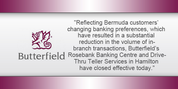 Bank Butterfield Bermuda TC April 17 2019