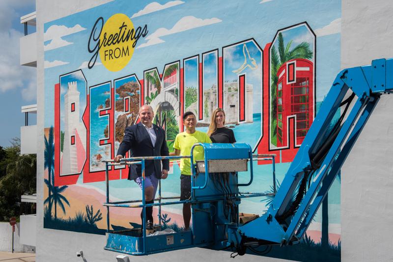 Bermuda Mural Unveiled April 2019 (2)