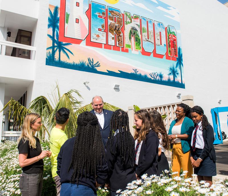Bermuda Mural Unveiled April 2019 (3)