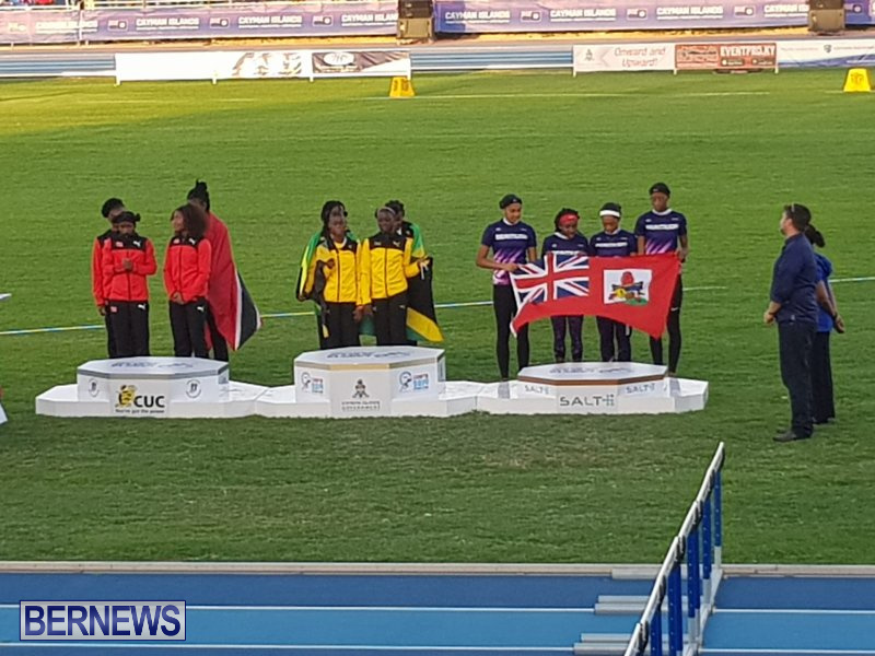 CARIFTA Games Bermuda U17 Relay Team, April 22 2019