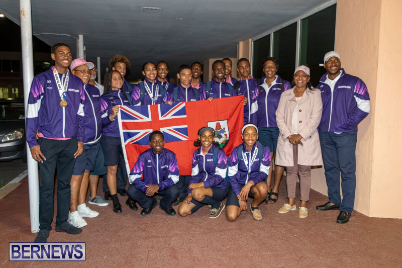 Carifta Athletic Team Airport Bermuda, April 23 2019-3036