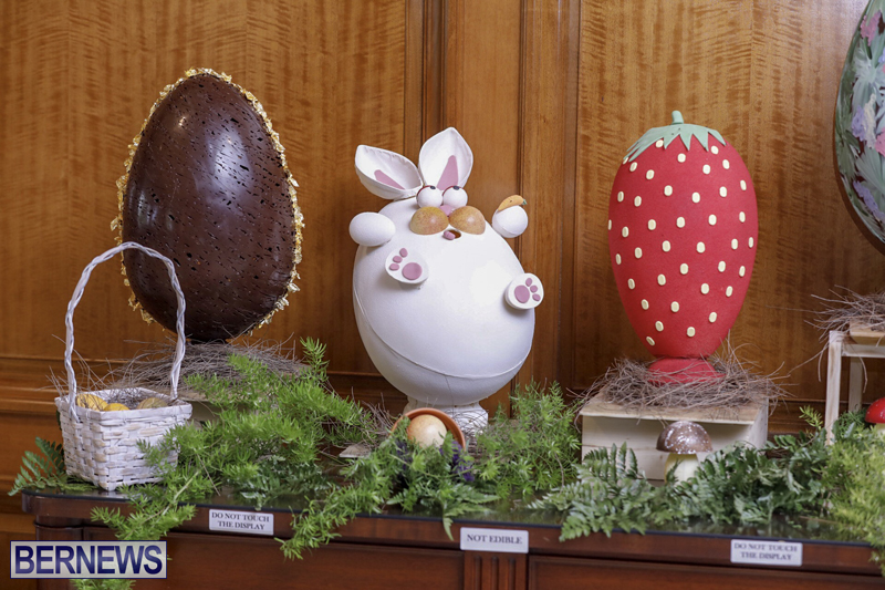 Fairmont Southampton Bermuda Easter Display April 2019 (12)
