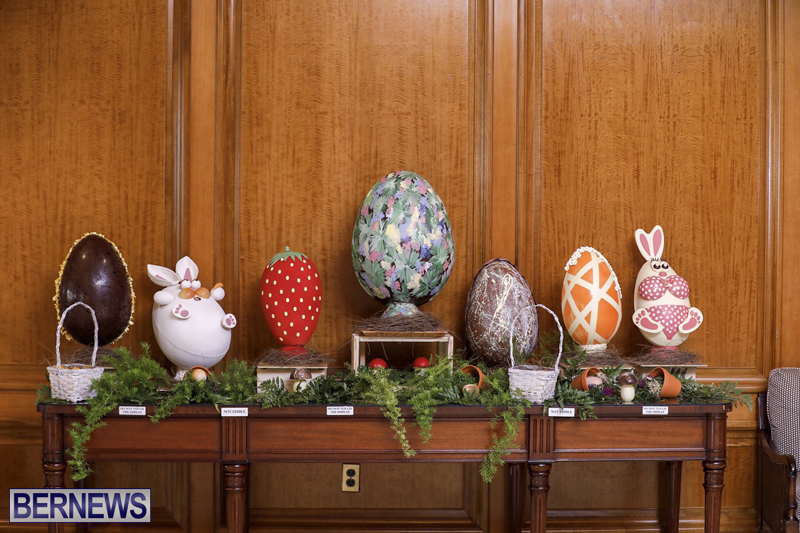 Fairmont Southampton Bermuda Easter Display April 2019 (18)