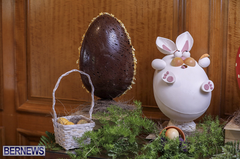 Fairmont Southampton Bermuda Easter Display April 2019 (6)