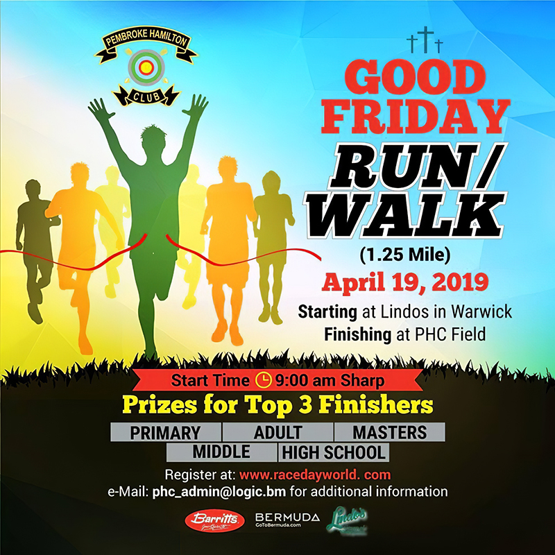 Good Friday Run Walk Bermuda April 19 2019