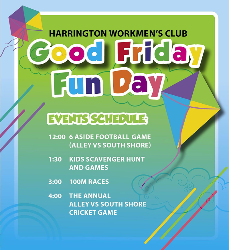 Harrington Workmans Good Friday Family Fun Day Bermuda April 19 2019