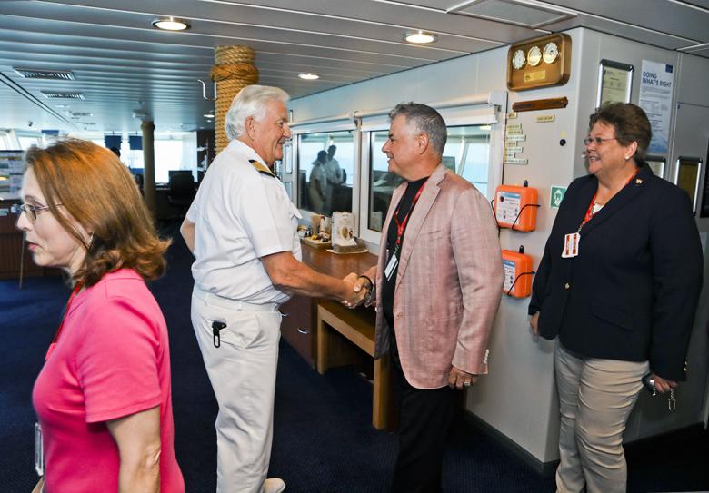 Norwegian Pearl Inaugural Visit Bermuda April 2019 (1)