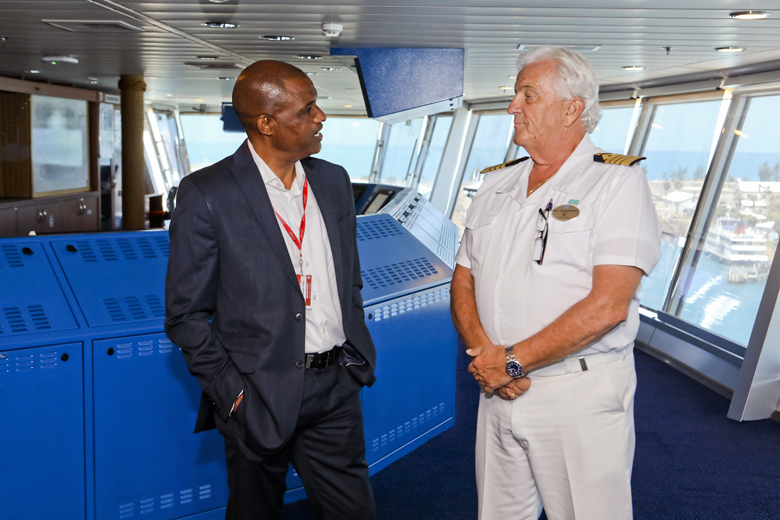Norwegian Pearl Inaugural Visit Bermuda April 2019 (2)