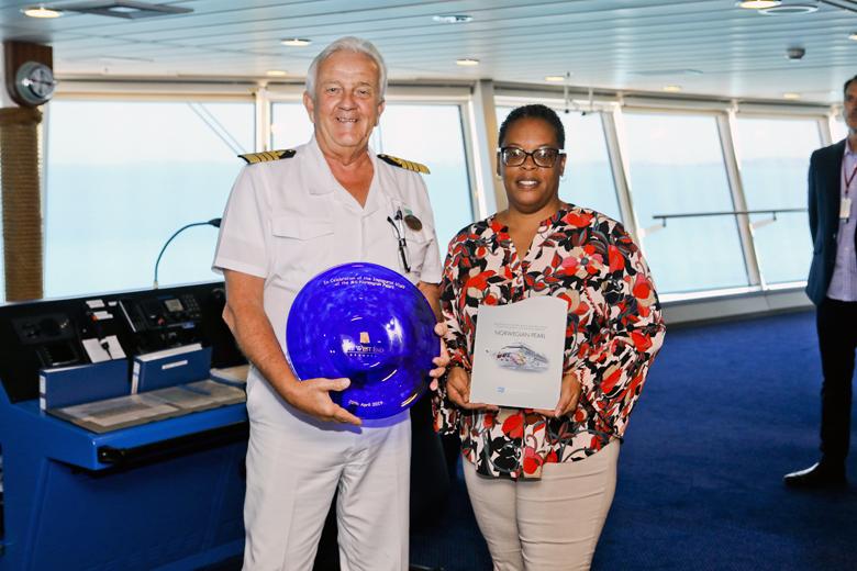 Norwegian Pearl Inaugural Visit Bermuda April 2019 (4)