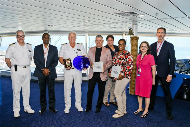 Norwegian Pearl Inaugural Visit Bermuda April 2019 (5)