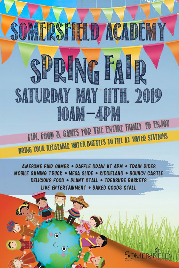 Somersfield Academy Spring Fair Bermuda April 2019