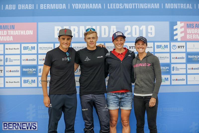 WTS Elite Athlete Press Conference Bermuda April 26 2019