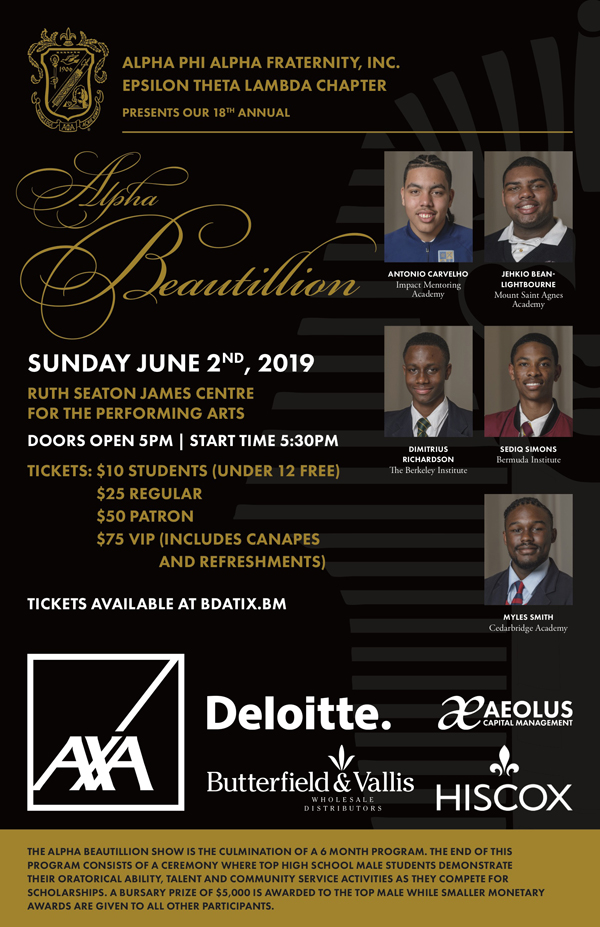 Alpha Beautillion Bermuda May 2019