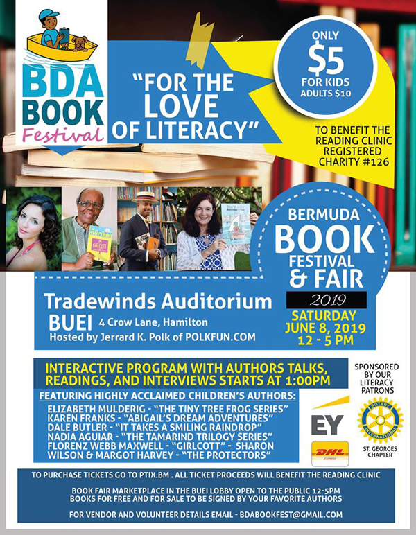 Bermuda Book Festival June 2019