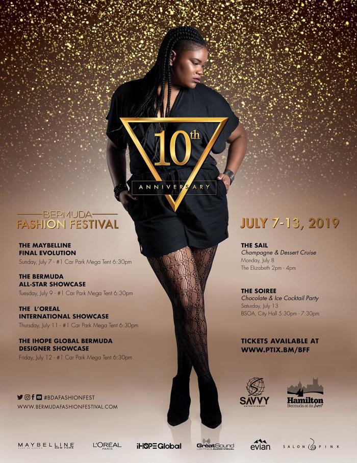 Bermuda Fashion Festival July 2019