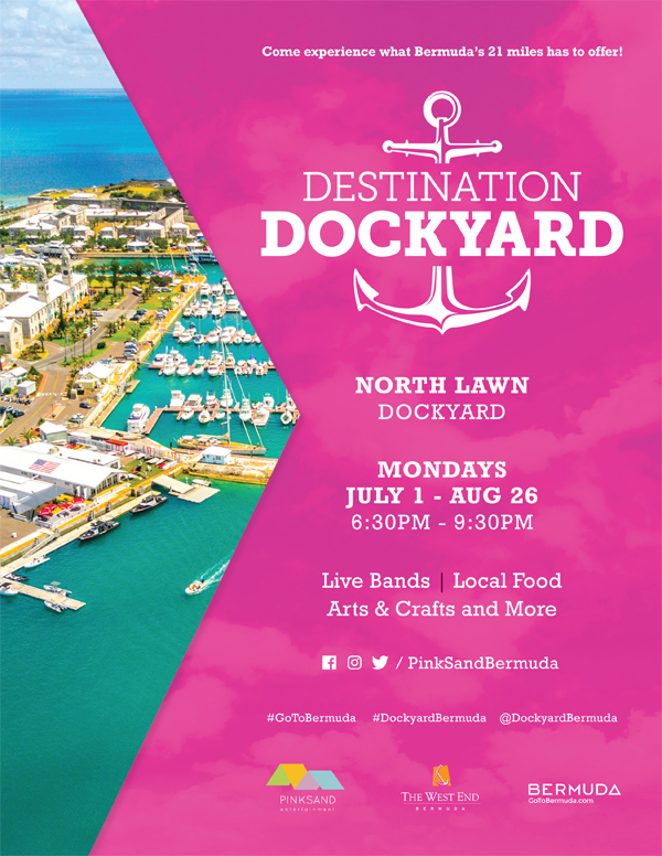 Destination Dockyard Bermuda May 2019