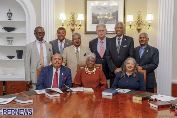 Hamilton swearing in ceremony Bermuda May 10 2019