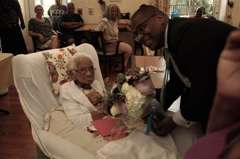 Ida Alice Lodge 100th Birthday Bermuda May 2019 (1)