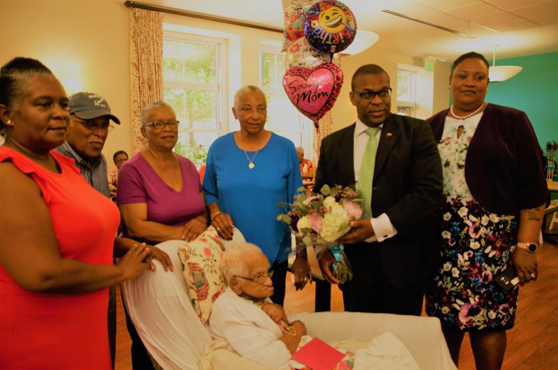 Ida Alice Lodge 100th Birthday Bermuda May 2019 (2)