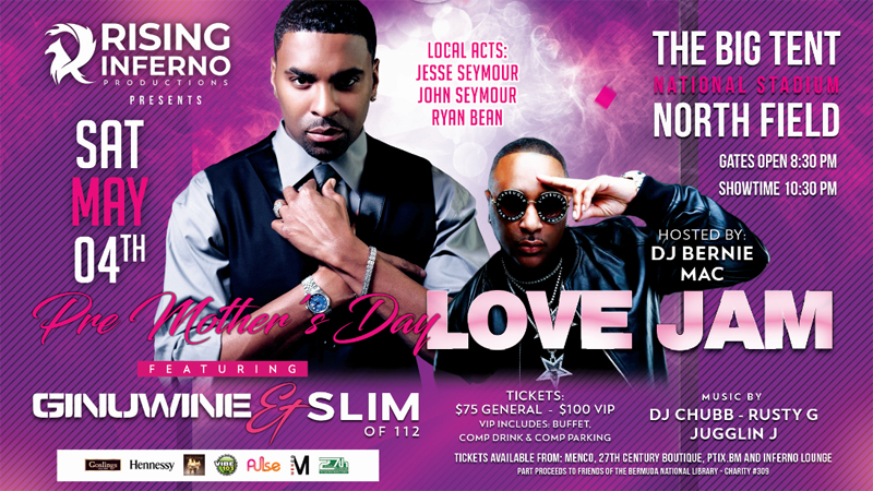 Pre Mother's Day Love Jam Bermuda May 2019