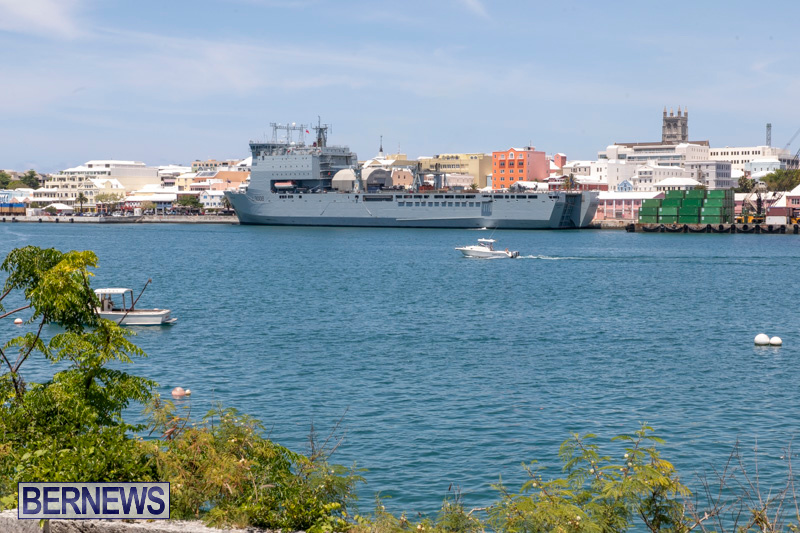 RFA Mounts Bay Bermuda, May 18 2019-6734